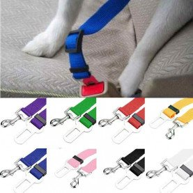 Hot Dog Collar Safety Seat Belt Small Pet Dog Nylon Leash Harness Lead Lead Strap Belt 2018 Fashion pet supplies acessorios