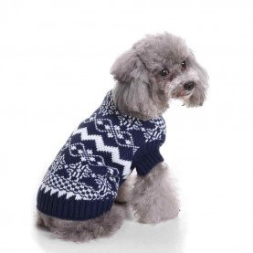 Pet Clothes Pet Dog Christmas n Comfortable Polyester Dress Sweater Knitwear Clothing Vest Pets Acessorios 17SEP12