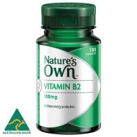 प्रकृति के अपने विटामिन बी 2 100मिलीग्राम 100 गोलियां