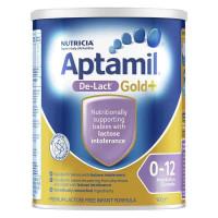 Aptamil गोल्ड डी-लैक्ट लैक्टोज मुक्त शिशु फार्मूला जन्म 0-12 महीने 900g से