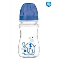 CANPOL शिशुओं EasyStart वाइड होल विरोधी परिपत्र बोतल