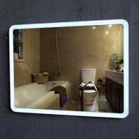 आधुनिक वैनिटी IP44 रेटेड होटल का नेतृत्व किया रोशन दर्पण बाथरूम दर्पण