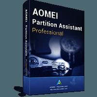 AOMEI विभाजन सहायक पेशेवर संस्करण