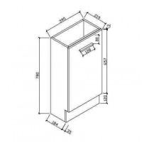बाथरूम कैबिनेट (HAV400)